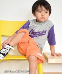 coen/【coen キッズ / ジュニア】Champion(チャンピオン)1/2SLEEVE Tシャツ/503079948