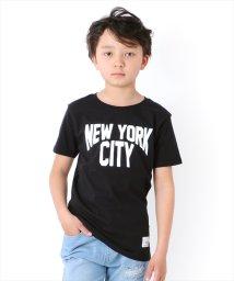 GLAZOS/天竺・ニューヨークロゴ半袖Tシャツ/503092692