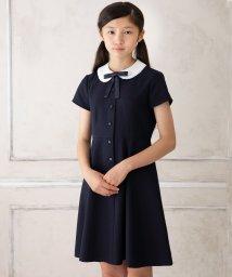 CHOPIN/半袖丸襟ワンピース/503093564