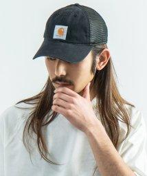 Rocky Monroe/CARHARTT カーハート ベースボールキャップ 帽子 メンズ レディース スナップバック 6パネル メッシュ ストリート ワーク カジュアル ダック生地 綿/503107345