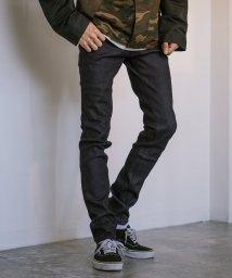 Rocky Monroe/スキニーパンツ メンズ ストレッチ デニム ジーンズ インディゴ 細身 スリム タイト 綿 コットン 日本製 国産 ストレッチ 伸縮性 シンプル カジュアル オ/503107698