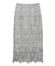 FRAY I.D/ラメレーススカート/503108052