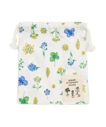 Seraph /お花とストライプの巾着Sサイズ/502793849