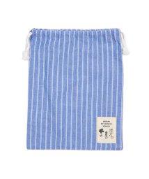 Seraph /お花とストライプの巾着Mサイズ/502793850