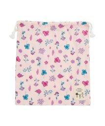 Seraph /お花とストライプの巾着Lサイズ/502793851