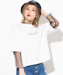 WEGO/【2点セット】シースルーセットロゴTシャツ/502896030