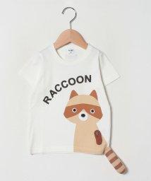 CHEEK ROOM/あらいぐまTシャツ/503045419
