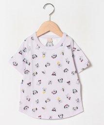 petit main/DOG総柄Tシャツ/503082577