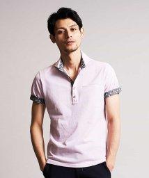 MICHEL KLEIN HOMME/ポロシャツ(エアリーストライプ)/503095307