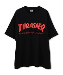 LHP/THRASHER/スラッシャー/スーパービッグサイズロゴプリントTシャツ/MAG LOGO/503108525