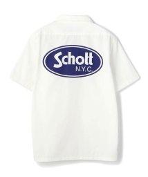 Schott/Schott/ショット/TC WORK SHIRT OVAL LOGO/TCワークシャツ オーバルロゴ /503108534