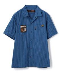 Schott/Schott/ショット/TC STRIPE WORK SHIRT/ストライプ ワークシャツ/503108536
