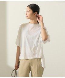 AULI/バックフリルTシャツ/503108620