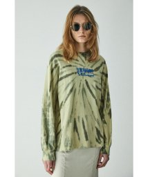 moussy/OVERPRINT TIE DYE LS Tシャツ/503108718