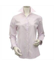BRICKHOUSE/シャツ 長袖 形態安定 スキッパー衿 レディース ウィメンズ/503109150