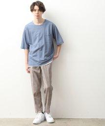 JUNRed/【タンクトップセットTシャツ】ライトマイクロカノコアンサンブルTシャツ/503109323