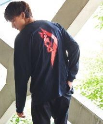 Rocky Monroe/PONY ポニー ロングTシャツ 長袖 メンズ ユニセックス USAコットン 米綿 プリント ロゴ 刺繍 ビッグシルエット オーバーサイズ ストリート カジュア/503109386