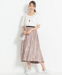 JIYU-KU /【新色追加】チュールプリーツ リバーシブルスカート(検索番号A47)/502822858
