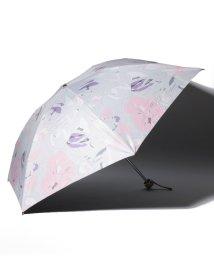 "LANVIN Collection(umbrella)/LANVIN COLLECTION 晴雨兼用折りたたみ傘 ""フラワー ハット""/502931699"