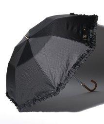 """LANVIN en Bleu(umbrella)/LANVIN en Bleu 晴雨兼用折りたたみ傘 """"ドビーフリル""""/502931725"""