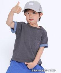 coen/【coen キッズ / ジュニア】プレーティングUSAコットンTシャツ/503079949