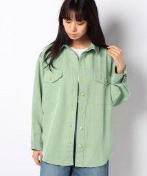 STYLEBLOCK/ドロップショルダービッグシルエットCPOシャツジャケットブラウス/503083549