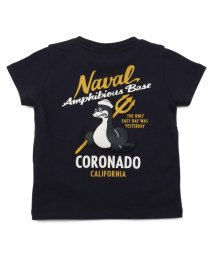 AVIREX/SH 【KIDS】刺繍 Tシャツ コロナド/EMB CREW NECK T-SHIRT SEAL/503111765