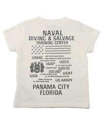 AVIREX/【KIDS】SH ネーヴァル ダイビング サルヴェージ Tシャツ/ SS TEE NAVAL DIVING SALVAGE T-SHIRT/503111766