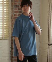 UNION STATION/【USAコットン】ドライタッチモックネックTシャツ/503111859