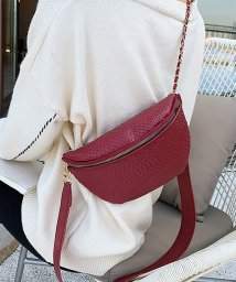 miniministore/ウエストバッグ レディース ウエストポーチ ボディバッグ ミニ チェーンバッグ へビ柄 PUレザー 鞄/503112335