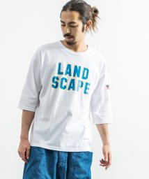 Rocky Monroe/Tシャツ メンズ プリント オーバーサイズ クルーネック カレッジT 7分袖 6分袖 ドロップショルダー ビッグT ロゴ ストリート カジュアル アメカジ 86/503112733
