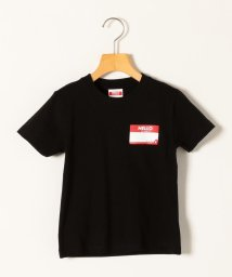 SHIPS any WOMENS/KICKIT:HELLO MY NAME IS プリント Tシャツ 100-140cm/503113365