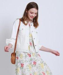 Couture Brooch/【WEB限定サイズ(LLあり)/手洗い可/2WAY】デニムライクジャケット/503113890