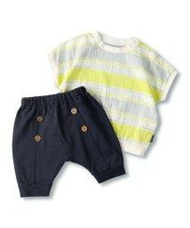 branshes/【ペア】マルチボーダーTシャツ&パンツセット/503114010