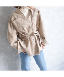 ARGO TOKYO/Corduroy shirt jacket/503114128