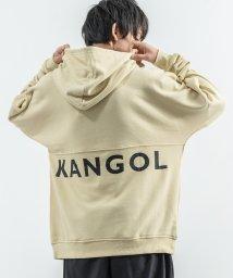 Rocky Monroe/KANGOL カンゴール プルオーバーパーカー スウェットシャツ トレーナー メンズ レディース ユニセックス 刺繍 ロゴ 無地 シンプル ルーズシルエット ビ/503114134