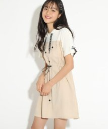PINK-latte/★ニコラ掲載★シャツドッキングワンピース/503114191