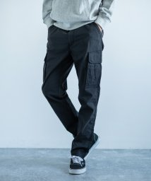 Rocky Monroe/カーゴパンツ メンズ ストレッチ スリム キレイめ カジュアル ワーク ミリタリー 軍パン 伸縮性 シンプル ウェザークロス BIG SMITH ビッグスミス /503114203