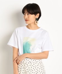 DOUX ARCHIVES /抽象フォトプリントTシャツ/502977396