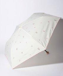 Cocoonist/フラワー柄晴雨兼用折りたたみ傘 雨傘/503038593