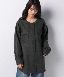 Kastane/【Kastane】ツイードノーカラーSH/503086339