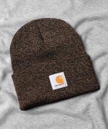 Rocky Monroe/ワッチハット ニット帽 メンズ ビーニー ニットキャップ 帽子 通年 レディース 無地 ロゴ お揃い あったか CARHARTT カーハート A18 9208/503114288