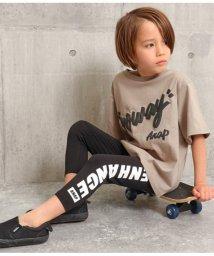 ANAP KIDS/サイドメッセージプリント七分丈レギンス/503114544