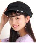 ANAP GiRL/ロゴ刺繍ツイルキャスケット/503114549