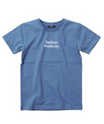 GLAZOS/天竺・接触冷感メッセージロゴ半袖Tシャツ/503114863