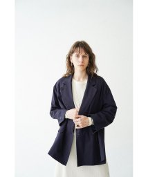 CLANE/【セットアップ対応商品】SIDE SLIT OVER TAILORED JACKET/503114966