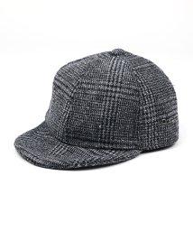 Rocky Monroe/キャップ メンズ 帽子 グレンチェック シンプル おしゃれ カジュアル タウン JAPAN FABRIC 8373/503115356