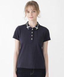 BLUE LABEL CRESTBRIDGE/ストレッチカノコポロシャツ/503115590