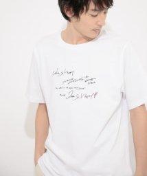 SENSE OF PLACE by URBAN RESEARCH/【別注】アートシシュウTシャツ(5分袖)C/503116162