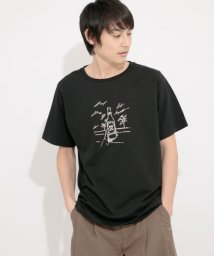 SENSE OF PLACE by URBAN RESEARCH/【別注】アートシシュウTシャツ(5分袖)D/503116163